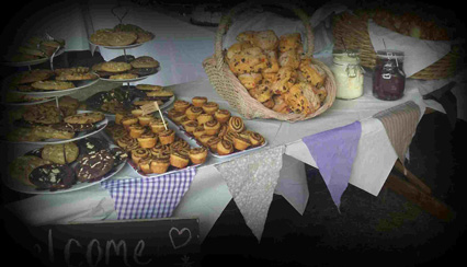 Afternoon Tea Buffet/Afternoon Tea Catering  Outside