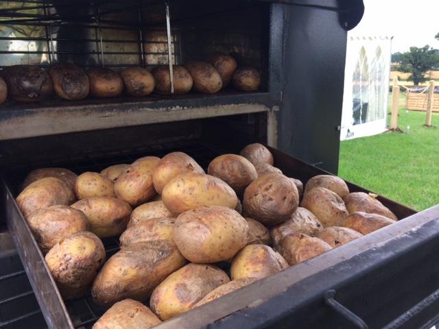 Cooked Jacket Potatoes